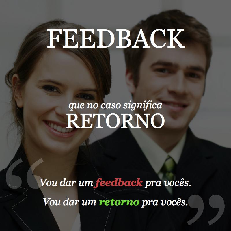 feedback - Português para Executivos