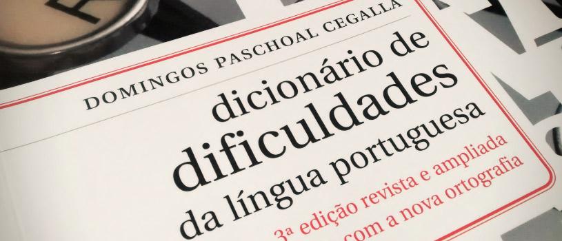 Dicionário de Dificuldades da Língua Portuguesa da Língua Portuguesa