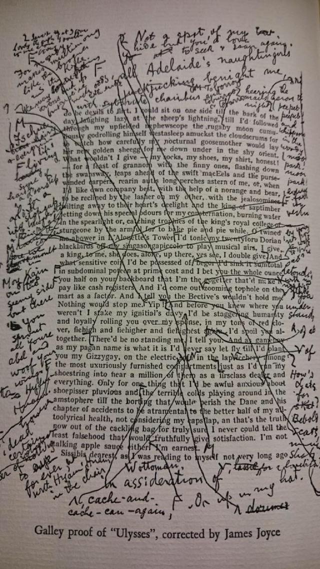 Revisões nos originais de Ulisses