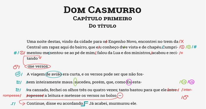 Curso de revisão em PDF - carimbos