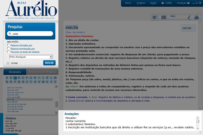 dicionário aurélio eletrônico_com destaque