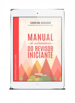 manual de sobrevivência do revisor iniciante capa