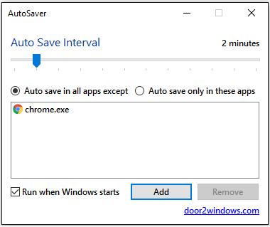 programa para salvar arquivos automaticamente